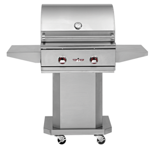 Delta Heat DHGB26-B Portable Stainless Gas Grill at Georgetown Fireplace and Patio